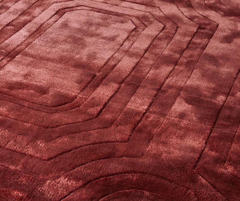 КоверПрямоугольные ковры<br>Ковер Carpet Owens из 100% новозелландской шерсти. Цвет: рубиновый. Ручная работа.<br><br>Material: Шерсть<br>Width см: 400<br>Depth см: 300