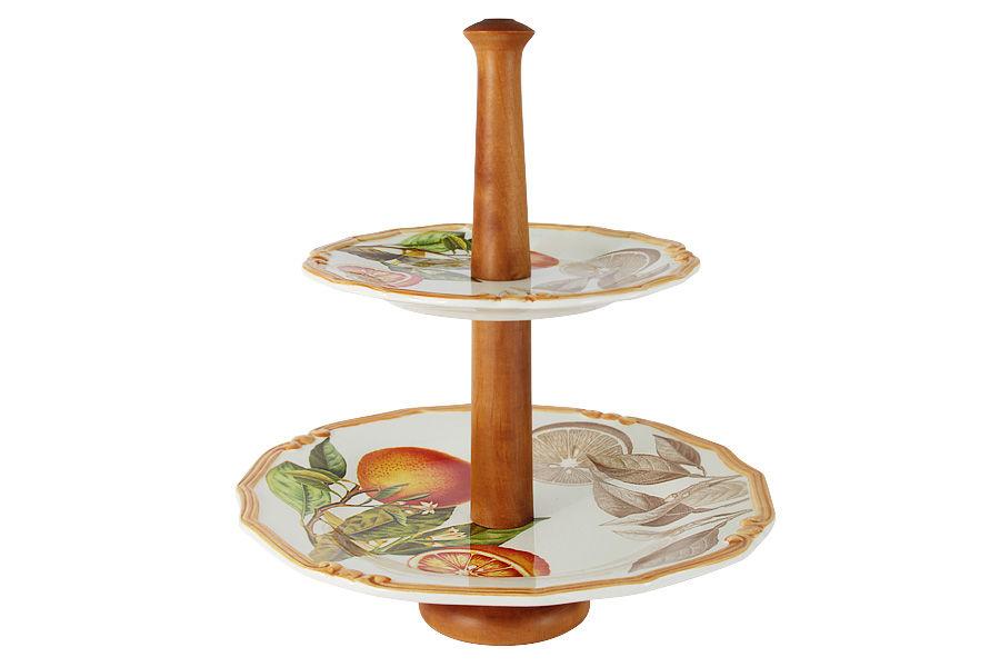 Ваза для фруктов АпельсиныПодставки и доски<br><br><br>Material: Керамика<br>Высота см: 33