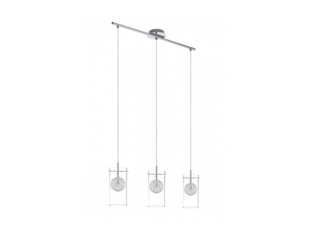 Подвесной светильник LamasПодвесные светильники<br>Вид цоколя: G9<br>Мощность:  33W <br>Количество ламп: 3 (нет в комплекте)<br><br>Material: Сталь<br>Ширина см: 71<br>Высота см: 110<br>Глубина см: 10