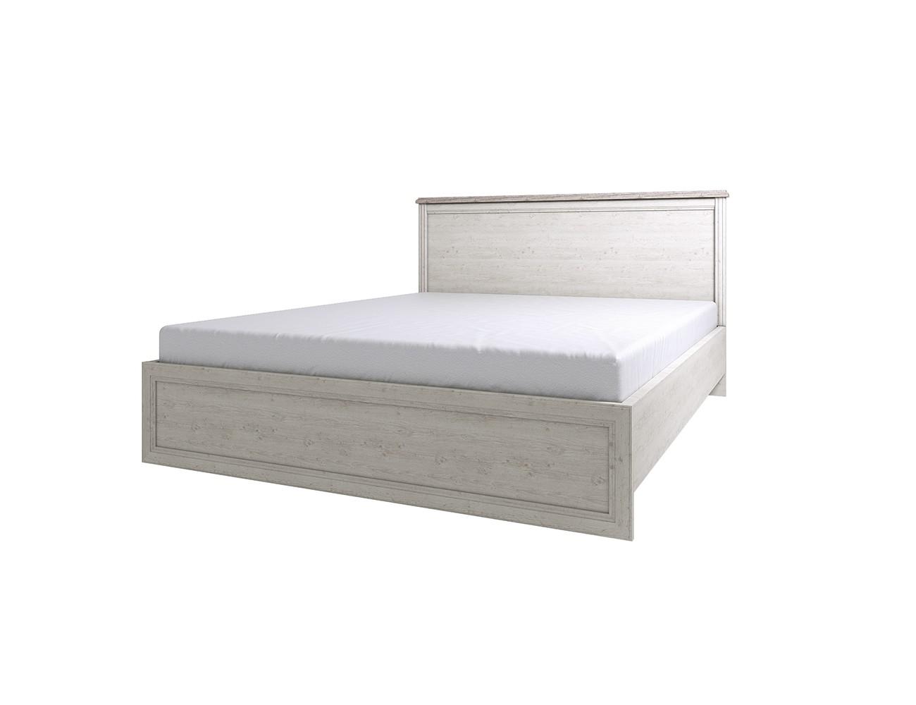 Кровать MonakoДеревянные кровати<br>Классическая мебель всегда привлекает ценителей гармоничного интерьера дома. Выдержанный стиль коллекции MONAKO, благородное сочетание двух цветовых гамм - сосна винтаж и дуб анкона - создадут приятную обстановку Вашего дома.  Оригинальные металлические ручки и патина на декоративных элементах делают эту коллекцию очень элегантной, а большой модельный ряд позволит обустроить достойный интерьер. <br>Размер спального  места 1200*2000 мм.&amp;amp;nbsp;<br><br>Material: ДСП<br>Ширина см: 129<br>Высота см: 100<br>Глубина см: 206