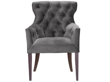Кресло byron (myfurnish) серый 62x96x66 см.