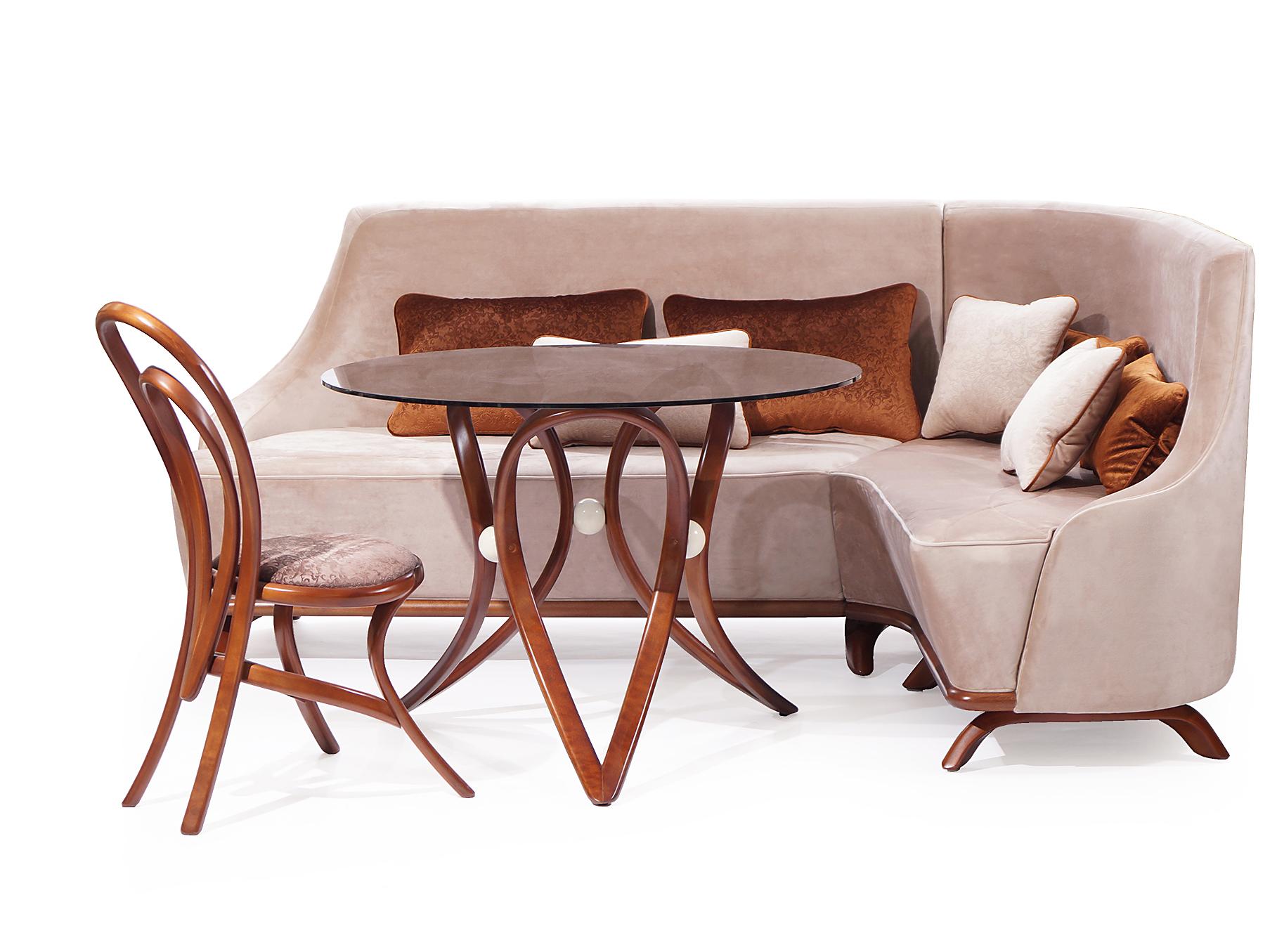 Диван Априори МТрехместные диваны<br>Небольшой угловой  диванчик ,хорошо сочетается в комплекте со столами и стульями коллекции априори. Есть модификации увеличенных размеров.<br><br>Material: Текстиль<br>Length см: None<br>Width см: 210<br>Depth см: 140<br>Height см: 95