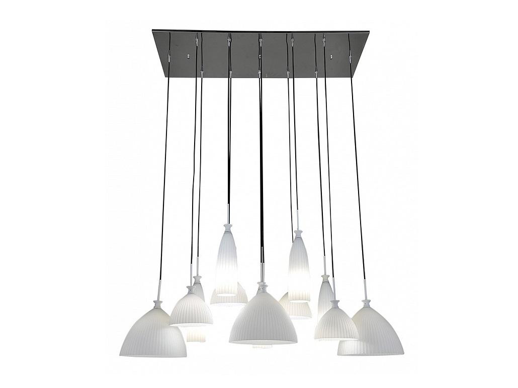 Подвесной светильник AgolaПодвесные светильники<br>&amp;lt;div&amp;gt;Вид цоколя: E14&amp;lt;/div&amp;gt;&amp;lt;div&amp;gt;Мощность: &amp;amp;nbsp;40W&amp;amp;nbsp;&amp;lt;/div&amp;gt;&amp;lt;div&amp;gt;Количество ламп: 12 (нет в комплекте)&amp;lt;/div&amp;gt;&amp;lt;div&amp;gt;&amp;lt;br&amp;gt;&amp;lt;/div&amp;gt;&amp;lt;div&amp;gt;Материал плафонов и подвесок - стекло&amp;lt;/div&amp;gt;&amp;lt;div&amp;gt;&amp;lt;br&amp;gt;&amp;lt;/div&amp;gt;<br><br>Material: Металл<br>Length см: 120<br>Width см: 50<br>Height см: 60