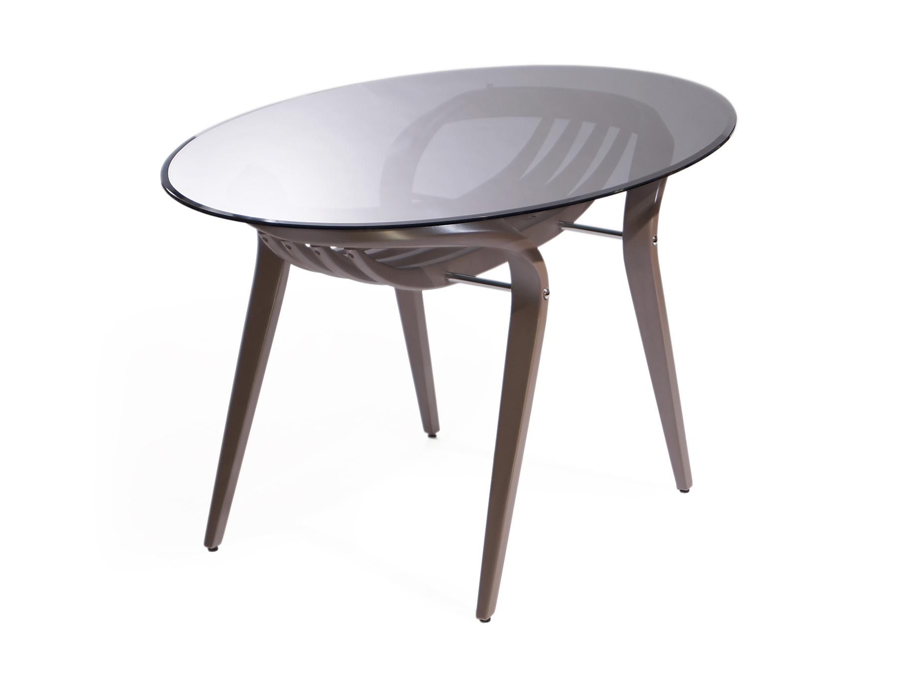 """Cтол обеденный AprioriОбеденные столы<br>В сегодняшнее время высоких технологий и динамичности, особой популярностью пользуется мебель, выполненная в стиле арт-деко, как, например этот обеденный стол """"Apriori"""". Пластичность натуральных материалов в сочетании со стеклянной столешницей дарят неповторимый шарм и легкость.<br><br>Material: Стекло<br>Ширина см: 80.0<br>Высота см: 75.0<br>Глубина см: 120.0"""