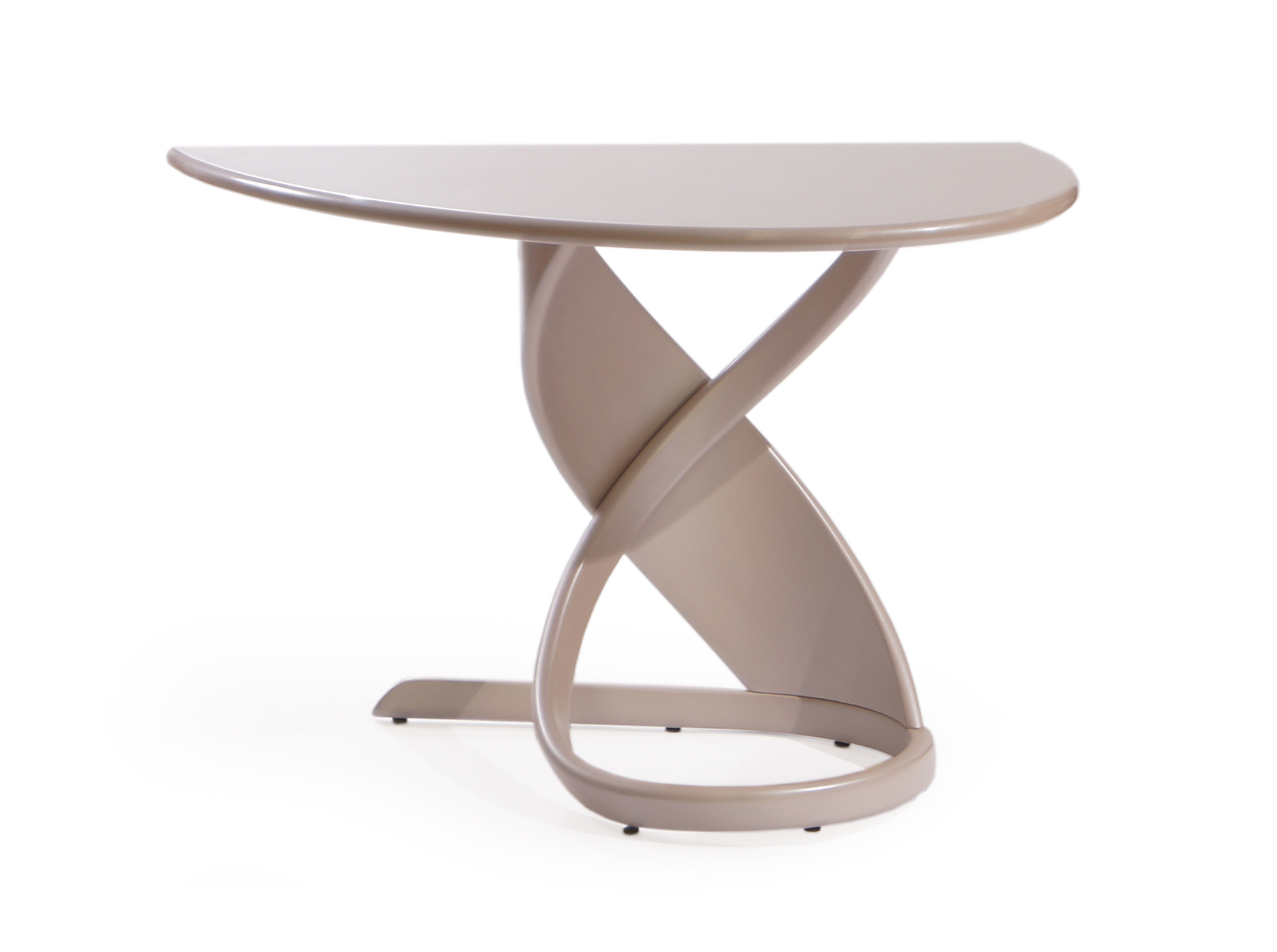 Стол пристенный Virtuos PПриставные столики<br>Воздушность форм и элегантные элементы – характерные признаки дизайнерской мебели от Actual Design, и большой обеденный стол не является исключением. Обладая небольшими размерами, он позволит сэкономить драгоценное пространство в интерьере, при этом, не лишаясь своей функциональности.<br>Столешница, выполненная из натурального дерева, приближает человека к природе, даря при этом много тепла и приятных ощущений.<br><br>Material: Дерево<br>Length см: None<br>Width см: 105<br>Depth см: 60<br>Height см: 75