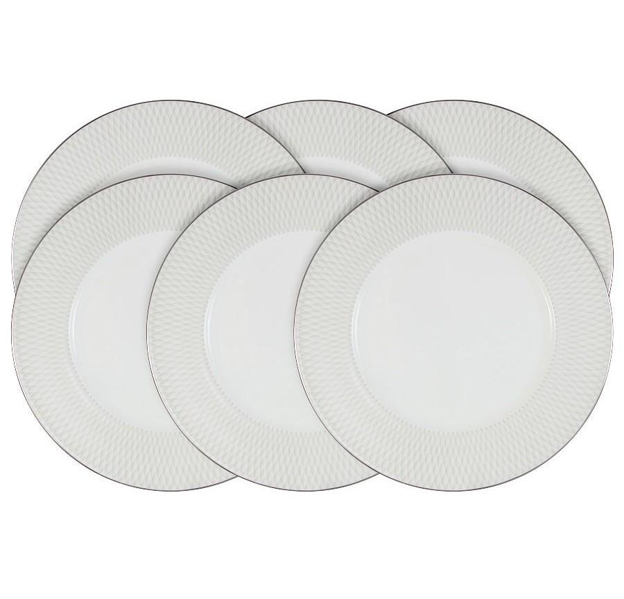 Набор обеденных тарелок Бриз (6 шт.)Тарелки<br><br><br>Material: Керамика