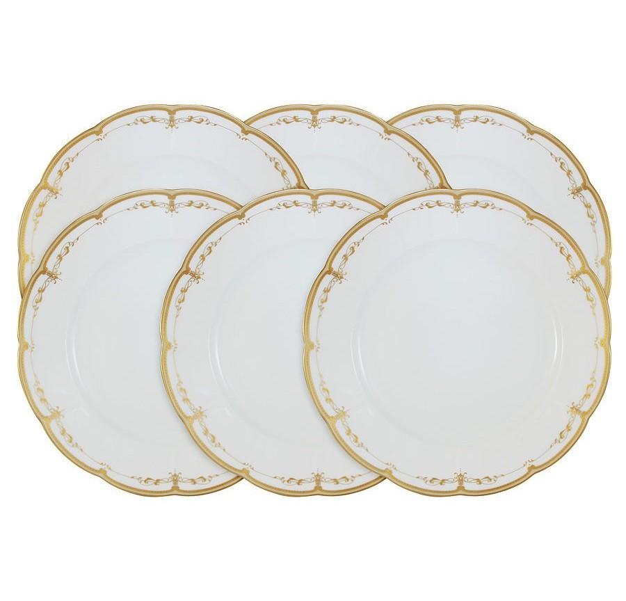 Набор обеденных тарелок Ожидание (6 шт.)Тарелки<br><br><br>Material: Керамика<br>Height см: 3,5<br>Diameter см: 27