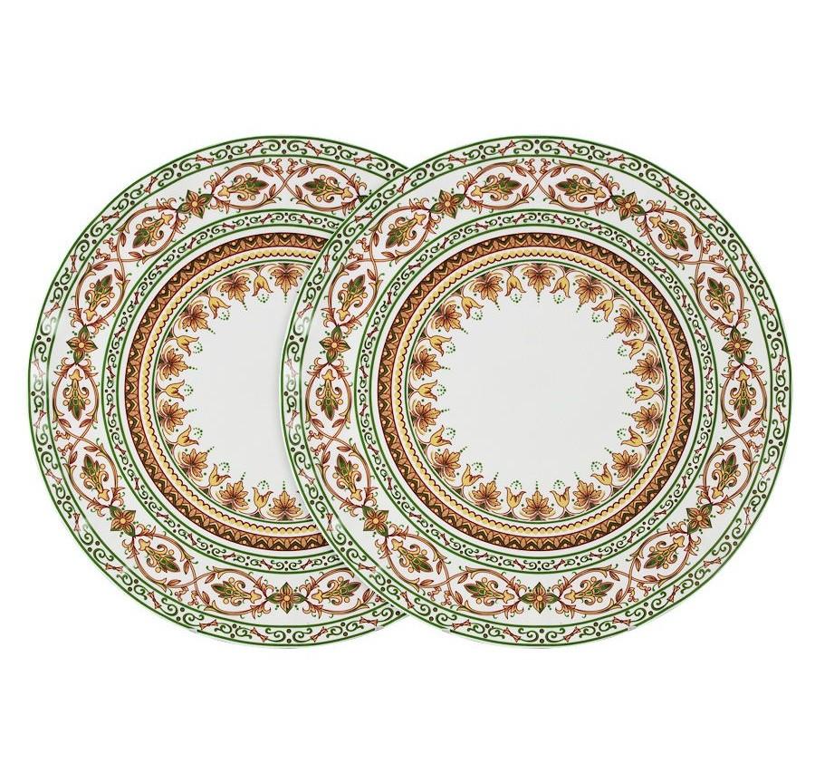 Набор обеденных тарелок Надин (2шт.)Тарелки<br><br><br>Material: Керамика<br>Высота см: 3