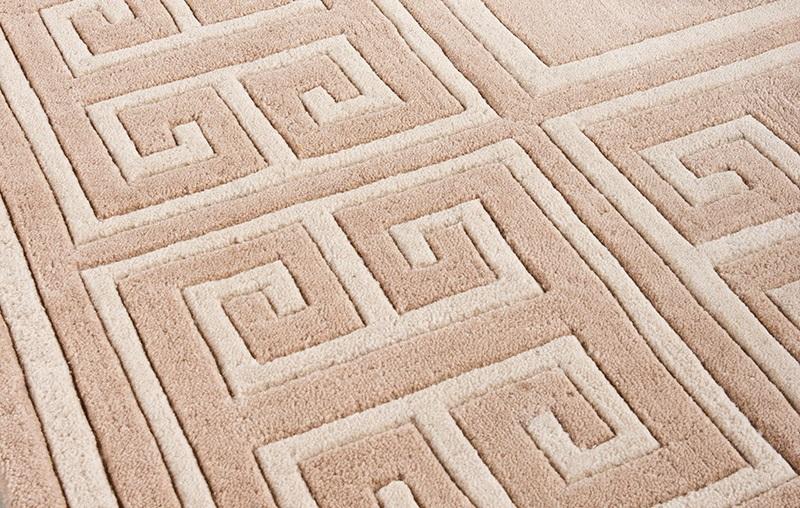 КоверПрямоугольные ковры<br>Ковер Carpet Apollo выполнен из 100% новозелландской шерсти. Цвет: бежевый с орнаментом. Ручная работа.<br><br>Material: Шерсть<br>Ширина см: 400<br>Глубина см: 300