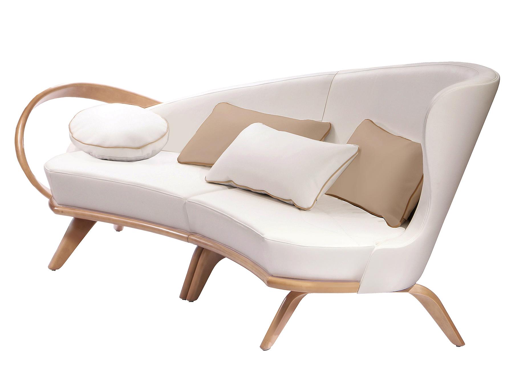 """Диван """"Apriori A""""Трехместные диваны<br>Радиусный диван из асимметричной коллекции ,хорошо сочетается с асимметричным столом журнальным """"brazo"""" . модификации дивана могут быть разных размеров.&amp;lt;div&amp;gt;&amp;lt;span style=&amp;quot;font-size: 14px;&amp;quot;&amp;gt;&amp;lt;br&amp;gt;&amp;lt;/span&amp;gt;&amp;lt;/div&amp;gt;&amp;lt;div&amp;gt;&amp;lt;span style=&amp;quot;font-size: 14px;&amp;quot;&amp;gt;Материал<br>Натуральное дерево/61тон береза выбеленная с эффектом&amp;amp;nbsp;&amp;lt;/span&amp;gt;&amp;lt;div&amp;gt;&amp;lt;div&amp;gt;Обивка <br>Экокожа наппа белая&amp;lt;/div&amp;gt;&amp;lt;/div&amp;gt;&amp;lt;/div&amp;gt;<br><br>Material: Кожа<br>Length см: None<br>Width см: 260<br>Depth см: 105<br>Height см: 95"""
