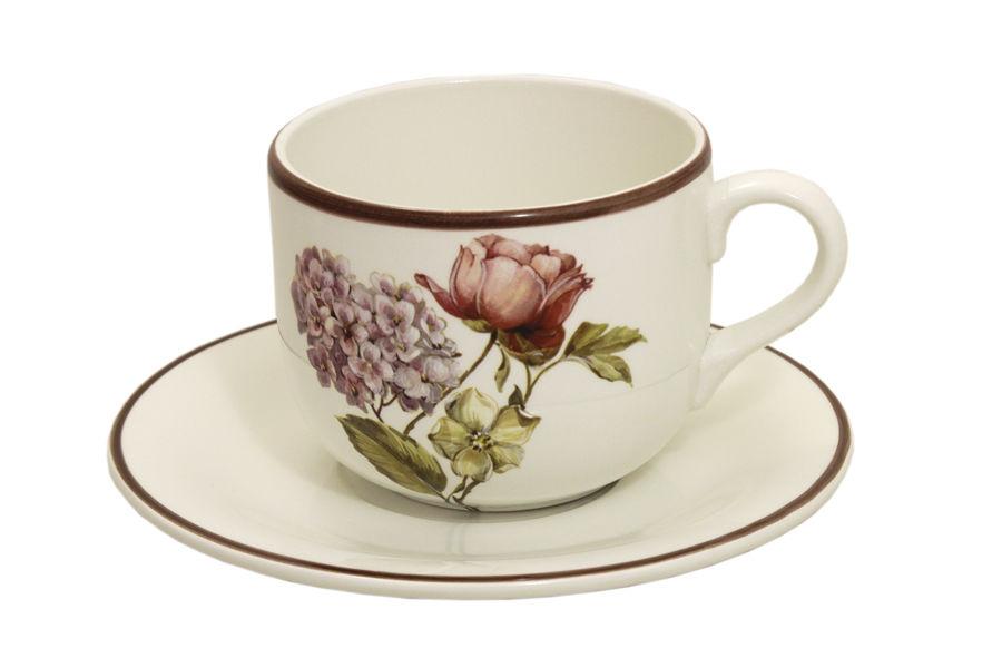 Чашка с блюдцем Сады ФлоренцииЧайные пары, чашки и кружки<br>&amp;lt;span style=&amp;quot;font-size: 14px;&amp;quot;&amp;gt;Объем:&amp;amp;nbsp;0,5 л.&amp;lt;/span&amp;gt;<br><br>Material: Керамика<br>Width см: 18<br>Depth см: 17.5<br>Height см: 9.5