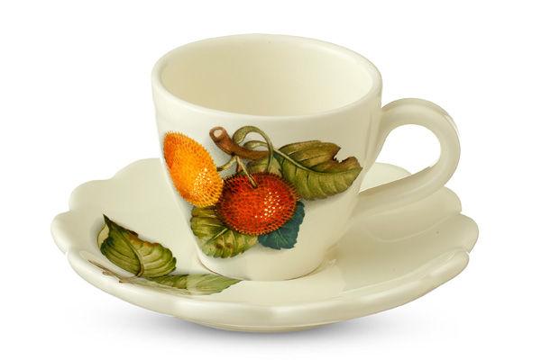 Чашка с блюдцем Итальянские фруктыЧайные пары, чашки и кружки<br>&amp;lt;span style=&amp;quot;font-size: 14px;&amp;quot;&amp;gt;Объем:&amp;amp;nbsp;0,3 л.&amp;lt;/span&amp;gt;<br><br>Material: Керамика<br>Ширина см: 13<br>Высота см: 17<br>Глубина см: 12