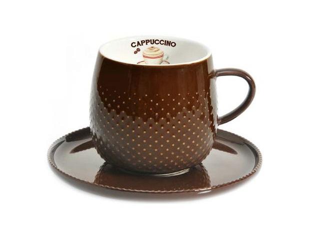 Чашка с блюдцем Капли дождяЧайные пары, чашки и кружки<br>&amp;lt;span style=&amp;quot;font-size: 14px;&amp;quot;&amp;gt;Объем:&amp;amp;nbsp;0,27 л.&amp;lt;/span&amp;gt;<br><br>Material: Фарфор<br>Width см: 12,5<br>Depth см: 9<br>Height см: 9