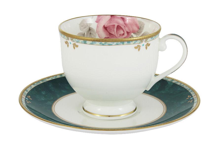 Чашка с блюдцем НежностьЧайные пары, чашки и кружки<br>&amp;lt;span style=&amp;quot;font-size: 14px;&amp;quot;&amp;gt;Объем:&amp;amp;nbsp;0,24 л.&amp;lt;/span&amp;gt;<br><br>Material: Фарфор<br>Высота см: 9
