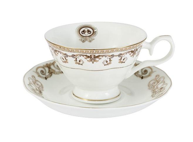 Чашка с блюдцем ВерсачеЧайные пары, чашки и кружки<br>Объем:&amp;nbsp;0,2 л.<br><br>kit: None<br>gender: None
