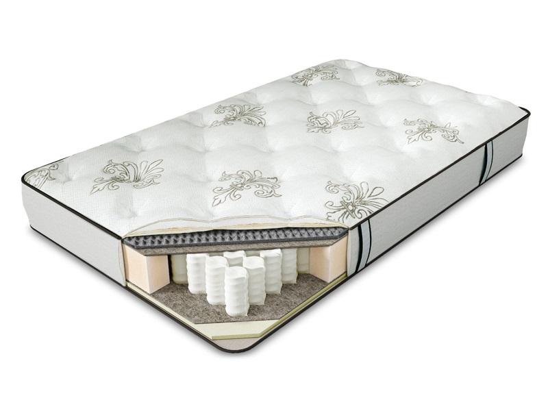Матрас Serta CaledoniaПружинные односпальные матрасы<br>&amp;lt;div&amp;gt;1. Comfort Quilt - система комфортности с тканью из натурального хлопка&amp;amp;nbsp;&amp;lt;br&amp;gt;&amp;lt;/div&amp;gt;&amp;lt;div&amp;gt;2. Memory Foam - высокоэластичный слой с эффектом памяти&amp;amp;nbsp;&amp;lt;/div&amp;gt;&amp;lt;div&amp;gt;3. Eco Latex - мягкий слой из натурального латекса&amp;amp;nbsp;&amp;lt;/div&amp;gt;&amp;lt;div&amp;gt;4. BambooFlex - пористый материал с углевой пропиткой, обладает микромассажным эффектом&amp;amp;nbsp;&amp;lt;/div&amp;gt;&amp;lt;div&amp;gt;5. Organic Flax - защитный слой из натурального льна&amp;amp;nbsp;&amp;lt;/div&amp;gt;&amp;lt;div&amp;gt;6. Serta Support System - фирменная система поддержки позвоночника&amp;amp;nbsp;&amp;lt;/div&amp;gt;&amp;lt;div&amp;gt;7. Total Edge Support - запатентованная система усиления периметра матраса&amp;lt;/div&amp;gt;<br><br>Material: Хлопок<br>Width см: 190<br>Depth см: 80<br>Height см: 23