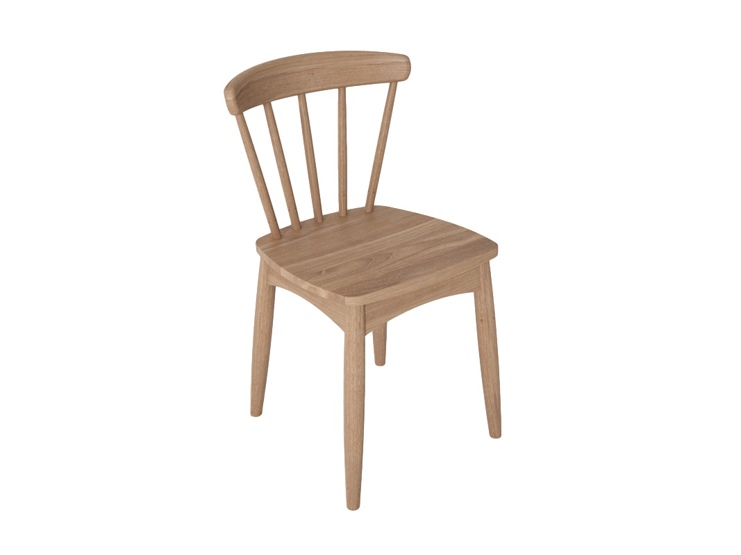 Стул TwistОбеденные стулья<br>Стул из массива тика коллекции Twist.<br><br>Material: Тик<br>Length см: None<br>Width см: 44<br>Depth см: 47<br>Height см: 77<br>Diameter см: None