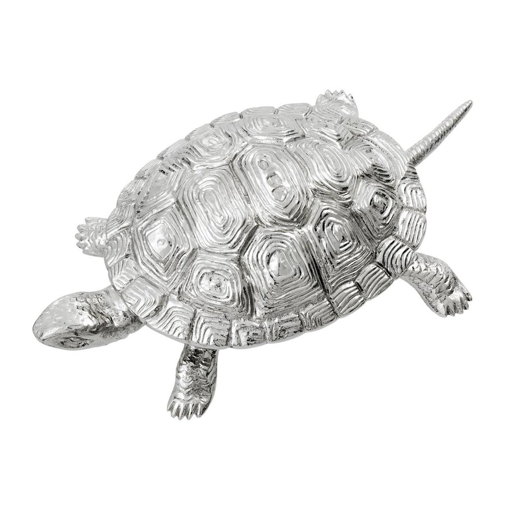 ШкатулкаШкатулки<br>Шкатулка Box Tortoise M с оригинальным дизайном в виде черепашки выполнена из никелированного металла.<br><br>Material: Металл<br>Width см: 26,5<br>Depth см: 15<br>Height см: 8