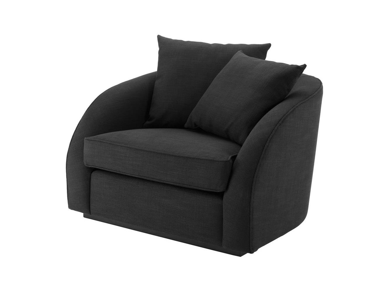 Кресло Les PalmiersИнтерьерные кресла<br>Кресло Les Palmiers на основании из дерева черного цвета.&amp;lt;div&amp;gt;Состав ткани: 84% полиэстер, 16% лен.&amp;lt;/div&amp;gt;<br><br>Material: Текстиль<br>Width см: 101<br>Depth см: 91<br>Height см: 72