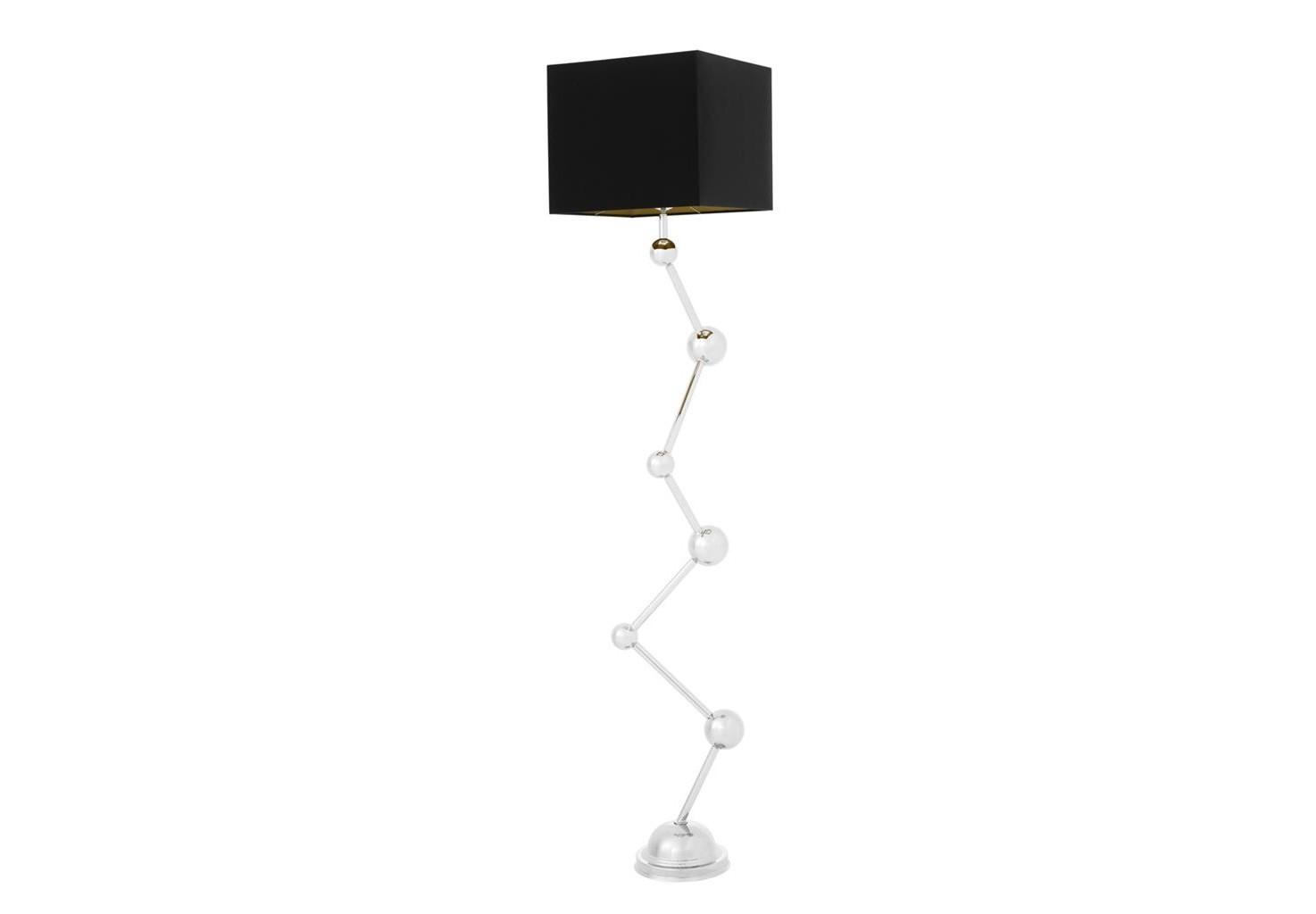 ТоршерТоршеры<br>Торшер Floor Lamp Colombo на основании из никелированного металла. Текстильный абажур черного цвета скрывает лампу.&amp;lt;div&amp;gt;&amp;lt;br&amp;gt;&amp;lt;/div&amp;gt;&amp;lt;div&amp;gt;&amp;lt;div&amp;gt;Тип цоколя: E27&amp;lt;/div&amp;gt;&amp;lt;div&amp;gt;Мощность: 40W&amp;lt;/div&amp;gt;&amp;lt;div&amp;gt;Кол-во ламп: 1 (нет в комплекте)&amp;lt;/div&amp;gt;&amp;lt;/div&amp;gt;<br><br>Material: Металл<br>Width см: 26<br>Depth см: 35<br>Height см: 173