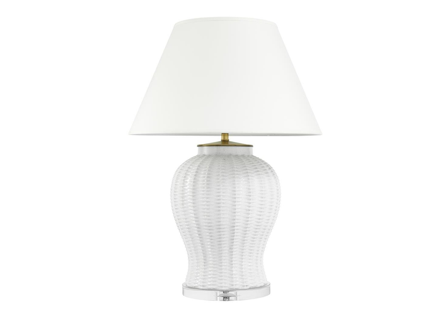 Настольная лампаДекоративные лампы<br>Настольная лампа Table Lamp Fort Meyers с вазой из керамики белого цвета. Текстильный белый абажур скрывает лампу&amp;lt;div&amp;gt;&amp;lt;br&amp;gt;&amp;lt;/div&amp;gt;&amp;lt;div&amp;gt;&amp;lt;div&amp;gt;Тип цоколя: E27&amp;lt;/div&amp;gt;&amp;lt;div&amp;gt;Мощность: 60W&amp;lt;/div&amp;gt;&amp;lt;div&amp;gt;Кол-во ламп: 1 (нет в комплекте)&amp;lt;/div&amp;gt;&amp;lt;/div&amp;gt;<br><br>Material: Керамика<br>Height см: 80<br>Diameter см: 58