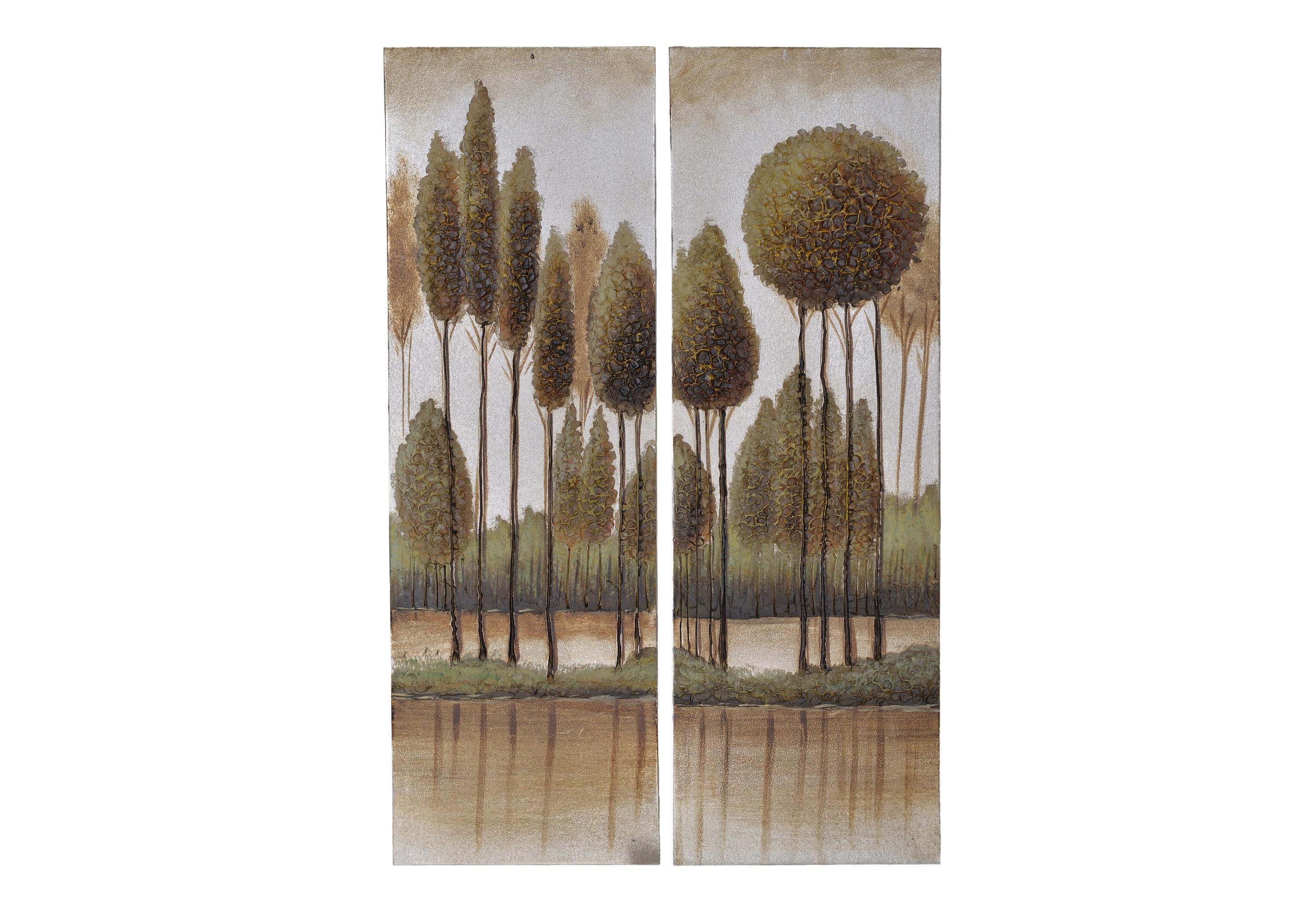 Набор картин Tenta (2шт)Картины<br>Материал: холст, дерево, масло<br><br>Material: Холст<br>Width см: 30<br>Depth см: 2<br>Height см: 90