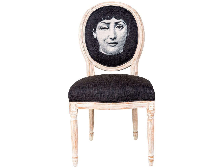 Стул Лина, версия НамекОбеденные стулья<br>Дизайн стула &amp;quot;Намек&amp;quot; создан эффектом экстравагантных контрастных сочетаний. Королевский силуэт эпохи Луи-Филиппа украсил рисунок в жанре современного &amp;quot;поп-арта&amp;quot;. Искусная рукописная патина - не только дань винтажной моде &amp;quot;шебби-шик&amp;quot;, но и справедливый намек на истинную прочность мебели, изготовленной из массива бука. Комфортабельность, прочность и долговечность сиденья обеспечены подвеской из эластичных ремней. Обивка оснащена тефлоновым покрытием против пятен.<br>&amp;lt;div&amp;gt;&amp;lt;br&amp;gt;&amp;lt;/div&amp;gt;&amp;lt;div&amp;gt;Корпус и ножки - бук&amp;lt;/div&amp;gt;&amp;lt;div&amp;gt;Обивка - 20% лен, 80% полиэстер с тефлоновым покрытием против пятен&amp;lt;br&amp;gt;&amp;lt;/div&amp;gt;&amp;lt;div&amp;gt;&amp;lt;br&amp;gt;&amp;lt;/div&amp;gt;&amp;lt;div&amp;gt;&amp;lt;br&amp;gt;&amp;lt;/div&amp;gt;&amp;lt;iframe width=&amp;quot;530&amp;quot; height=&amp;quot;315&amp;quot; src=&amp;quot;https://www.youtube.com/embed/MqeeEoEbmPE&amp;quot; frameborder=&amp;quot;0&amp;quot; allowfullscreen=&amp;quot;&amp;quot;&amp;gt;&amp;lt;/iframe&amp;gt;<br><br>Material: Бук<br>Ширина см: 62<br>Высота см: 101<br>Глубина см: 50