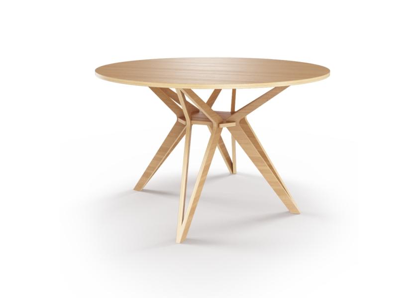 Стол HagforsОбеденные столы<br>Hagfors – это стол, необычный дизайн которого создаст изящный акцент в вашем интерьере. Возможен в диаметрах 60, 90, 100, 120 и 148см.&amp;lt;div&amp;gt;&amp;lt;br&amp;gt;&amp;lt;/div&amp;gt;&amp;lt;div&amp;gt;&amp;lt;span style=&amp;quot;line-height: 24.9999px;&amp;quot;&amp;gt;Отделка шпоном дуба.&amp;amp;nbsp;&amp;lt;/span&amp;gt;&amp;lt;br&amp;gt;&amp;lt;/div&amp;gt;<br><br>Material: Фанера<br>Высота см: 75