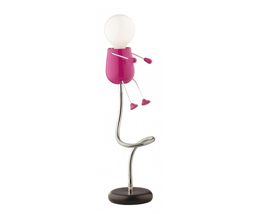 Настольная лампа Rika GirlДекоративные лампы<br><div>Тип цоколя: E27</div><div>Мощность: 40W</div><div>Кол-во ламп: 1 (нет в комплекте)</div><br><br>Material: Металл<br>Height см: 38<br>Diameter см: 12