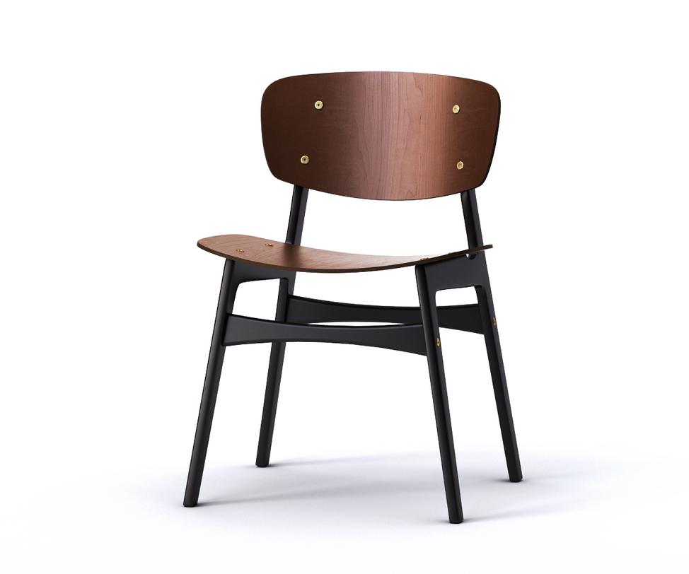Стул SidОбеденные стулья<br>Действительно удобный стул от известного российского производителя выполнен в популярном скандинавском стиле. При его изготовлении использованы экологичные материалы на основе древесины, а сиденье и спинка с чуть выпуклыми поверхностями и выглядят лаконично, и очень комфортны для человека.<br>Срок изготовления 10 рабочих дней.<br><br>Material: Дерево<br>Length см: None<br>Width см: 54<br>Depth см: 46<br>Height см: 78<br>Diameter см: None