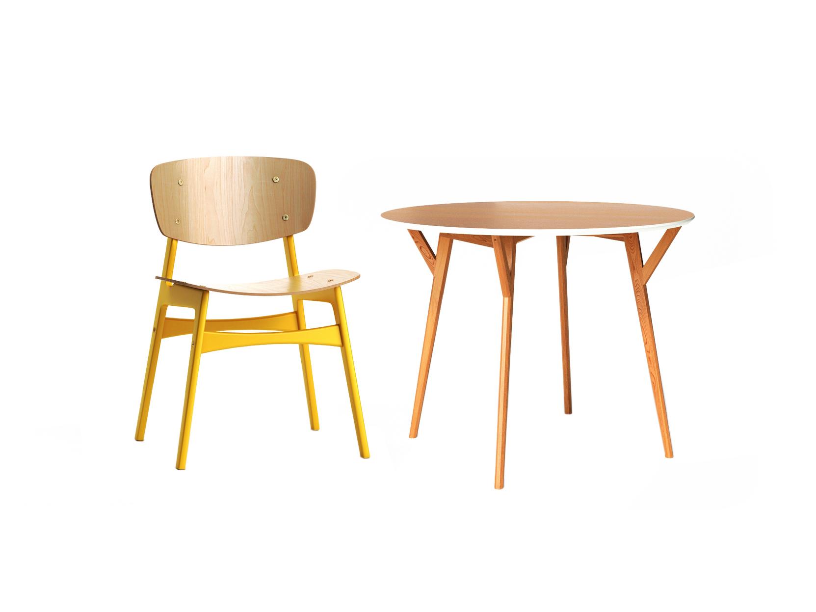 Обеденная группа Circle (стол + 4 стула)Комплекты для столовой<br>&amp;lt;div&amp;gt;&amp;lt;div&amp;gt;Этот круглый стол для современной уютной кухни имеет почти невесомую конструкцию. Между тем, он очень устойчивый и крепкий, а ножки из цельной древесины дополнительно усилены распорками. Столешница изготовлена из шпонированного ДСП и окрашена в цвет светлого дуба, а с торца украшена фаской оттенка слоновой кости. Оригинально &amp;quot;скроенный&amp;quot; обеденный стул SID &amp;amp;nbsp;не оставит равнодушной ни одну кухню в скандинавском стиле. Спинка и сидение слегка изогнуты, что обеспечит полный комфорт во время трапезы.&amp;amp;nbsp;&amp;lt;/div&amp;gt;&amp;lt;div&amp;gt;&amp;lt;br&amp;gt;&amp;lt;/div&amp;gt;&amp;lt;div&amp;gt;Размеры стола :75/102 см.&amp;lt;/div&amp;gt;&amp;lt;div&amp;gt;Материал стола: Массив дуба, натуральный шпон дуба, МДФ, эмаль, лак&amp;lt;/div&amp;gt;&amp;lt;div&amp;gt;Размеры стула:54/78/46 см.&amp;lt;/div&amp;gt;&amp;lt;div&amp;gt;Материал сидения: Сиденье – Фанера, каркас - фанера, отделка – эмаль, лак.&amp;lt;/div&amp;gt;&amp;lt;/div&amp;gt;<br><br>Material: Дуб<br>Высота см: 75
