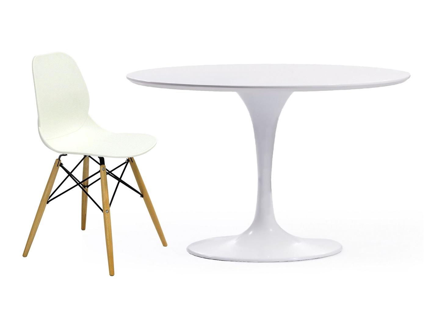 Обеденная группа Apriori T (стол + 4 стула)Комплекты для столовой<br>&amp;lt;div&amp;gt;&amp;lt;div&amp;gt;Обеденный круглый стол с лаконичным основанием из акрилового камня.&amp;amp;nbsp;&amp;lt;/div&amp;gt;&amp;lt;/div&amp;gt;&amp;lt;div&amp;gt;Белый пластиковый стул на деревянных ножках.&amp;lt;br&amp;gt;&amp;lt;/div&amp;gt;&amp;lt;div&amp;gt;&amp;lt;br&amp;gt;&amp;lt;/div&amp;gt;&amp;lt;div&amp;gt;&amp;lt;div&amp;gt;Размеры стола: 77/105&amp;lt;/div&amp;gt;&amp;lt;div&amp;gt;Материал стола:&amp;amp;nbsp;&amp;lt;span style=&amp;quot;font-size: 14px;&amp;quot;&amp;gt;&amp;amp;nbsp;&amp;lt;/span&amp;gt;&amp;lt;span style=&amp;quot;font-size: 14px;&amp;quot;&amp;gt;акриловый камень.&amp;lt;/span&amp;gt;&amp;lt;/div&amp;gt;&amp;lt;div&amp;gt;Размеры стула: 45/49/82&amp;lt;/div&amp;gt;&amp;lt;div&amp;gt;Материал стула: пластик&amp;lt;/div&amp;gt;&amp;lt;/div&amp;gt;<br><br>Material: Дерево<br>Высота см: 77