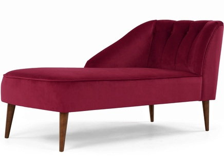Кушетка marie l (myfurnish) розовый 150x77x68 см.