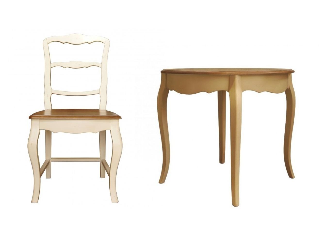 Обеденная группа Leontina (стол + 4 стула)Комплекты для столовой<br>&amp;lt;div&amp;gt;&amp;lt;span style=&amp;quot;font-size: 14px;&amp;quot;&amp;gt;Чем можно заинтересовать в отсутствии яркой отделки? Конечно, изяществом пропорций. Именно они, такие волнующие и чувственные, позволяют комплекту &amp;quot;Leontina&amp;quot; источать притягательность. В многочисленных изгибах резных деревянных деталей и кроется шарм прованского стиля, в котором выполнено оформление. Шарм скромный, нежный, но удивительно эффектный и грациозный, завораживающий с первого знакомства.&amp;lt;/span&amp;gt;&amp;lt;br&amp;gt;&amp;lt;/div&amp;gt;&amp;lt;div&amp;gt;&amp;lt;br&amp;gt;&amp;lt;/div&amp;gt;&amp;lt;div&amp;gt;&amp;lt;div&amp;gt;Круглый деревянный обеденный стол в стиле прованс.&amp;lt;/div&amp;gt;&amp;lt;div&amp;gt;Материал: Береза, ясень Вес: 15 кг&amp;lt;/div&amp;gt;&amp;lt;/div&amp;gt;&amp;lt;div&amp;gt;&amp;lt;br&amp;gt;&amp;lt;/div&amp;gt;&amp;lt;div&amp;gt;&amp;lt;div&amp;gt;Размеры стола:&amp;amp;nbsp;90/90/76&amp;lt;/div&amp;gt;&amp;lt;div&amp;gt;Материал стола: береза&amp;lt;/div&amp;gt;&amp;lt;div&amp;gt;Размеры стула: 47/47/90&amp;lt;/div&amp;gt;&amp;lt;div&amp;gt;Материал стула: береза&amp;lt;/div&amp;gt;&amp;lt;/div&amp;gt;<br><br>Material: Береза<br>Length см: 90<br>Width см: 90<br>Depth см: None<br>Height см: 76<br>Diameter см: None