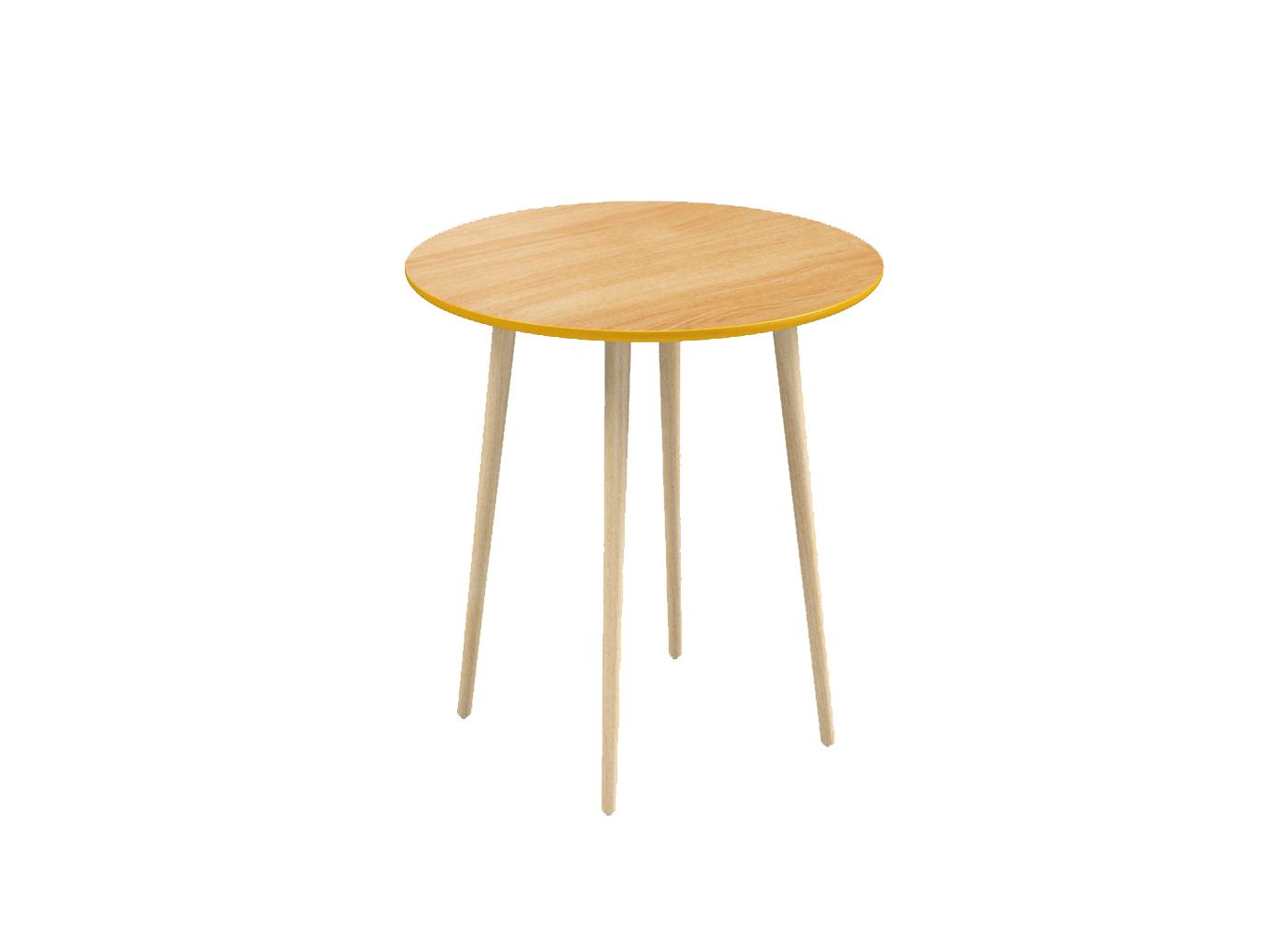 Стол СпутникПриставные столики<br>Woodi предлагает свою версию скандинавского обеденного<br>стола.<br>Классическая круглая форма и натуральные материалы -<br>отличительные черты нашего стола. Столешница, основание<br>и ножки представлены в двух цветах и материалах, которые<br>можно комбинировать по вашему желанию. Стол предназначен<br>для использования как в общественных зонах, так и<br>дома. Материал: Верх столешницы покрыт лакированным <br>натуральным шпоном,<br>низ столешницы покрашен в<br>желто-горчичный цвет;<br>ножки из березы – лакированные.Woodi предлагает свою версию скандинавского обеденного<br>стола.<br>Классическая круглая форма и натуральные материалы -<br>отличительные черты нашего стола. Столешница, основание<br>и ножки представлены в двух цветах и материалах, которые<br>можно комбинировать по вашему желанию. Стол предназначен<br>для использования как в общественных зонах, так и<br>дома. Материал: Верх столешницы покрыт лакированным <br>натуральным шпоном,<br>низ столешницы покрашен в<br>желто-горчичный цвет;<br>ножки из березы – лакированные.<br><br>Material: Береза<br>Width см: None<br>Depth см: None<br>Height см: 75<br>Diameter см: 70