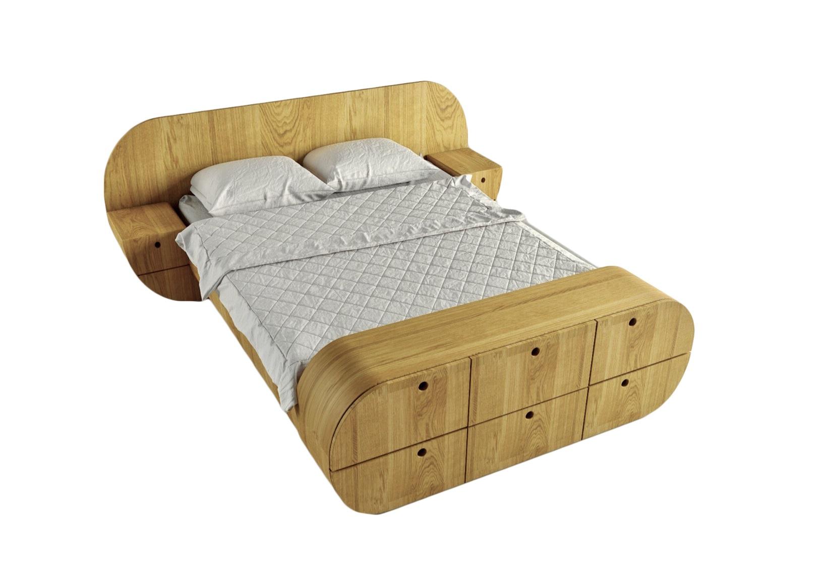Кровать с тумбами и комодом ЦиклДеревянные кровати<br>Отличный комплект - кровать, 2 тумбы, комод!<br>Представляет собой единую констукцию, изделие покрыто натуральным шпоном, теплый и приятный материал<br>Матрас, белье и подушки в стоимость не входят&amp;amp;nbsp;&amp;lt;div&amp;gt;&amp;lt;br&amp;gt;&amp;lt;/div&amp;gt;&amp;lt;div&amp;gt;Размер спального места: 160см на 200см&amp;amp;nbsp;&amp;lt;/div&amp;gt;&amp;lt;div&amp;gt;Материал: МДФ, шпон&amp;amp;nbsp;&amp;lt;/div&amp;gt;<br><br>Material: МДФ<br>Ширина см: 218.0<br>Высота см: 87.0<br>Глубина см: 267.0