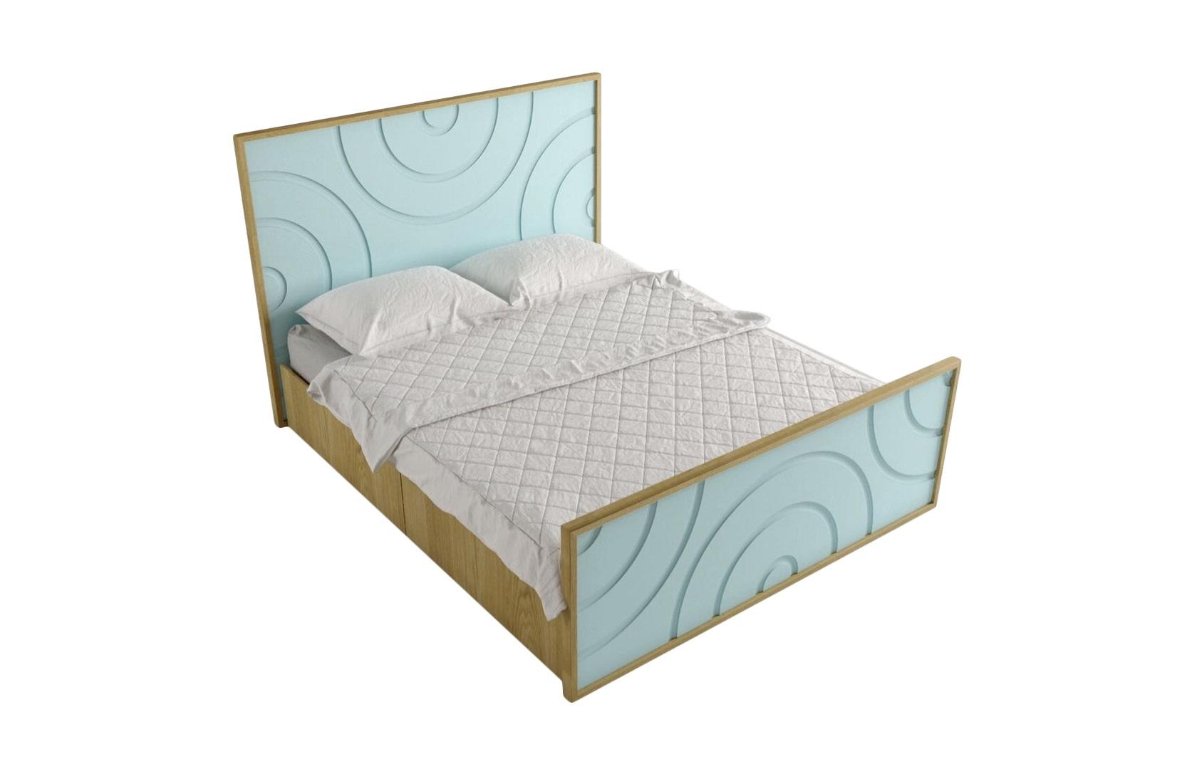 """Кровать """"Круги на воде"""""""