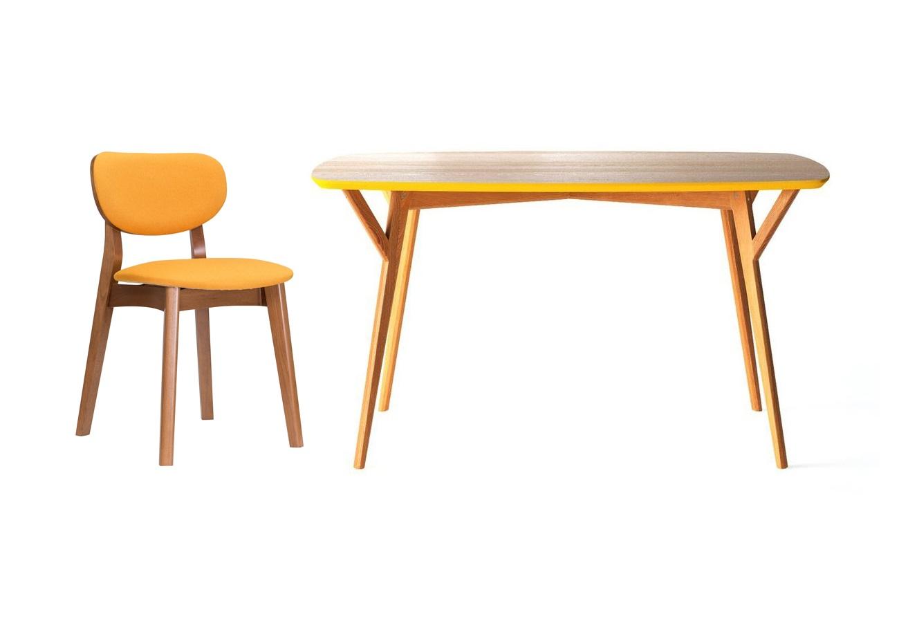 Обеденная группа Proso (стол + 4 стула)Комплекты для столовой<br>&amp;lt;div&amp;gt;Обеденный стол Proso обладает универсальным дизайном и исключительно устойчивым основанием, что делает его незаменимым в больших семьях и общественных местах. Отсутствие острых углов бережет от нежелательных царапин, а множество вариантов отделок дают возможность создать неповторимую атмосферу. Стул &amp;quot;Xavier&amp;quot; &amp;amp;nbsp;будет идеально смотреться как дополнение к обеденному столу, так и станет акцентом для вашей творческой студии. Само воплощение скандинавской классики.&amp;lt;br&amp;gt;&amp;lt;/div&amp;gt;&amp;lt;div&amp;gt;&amp;lt;br&amp;gt;&amp;lt;/div&amp;gt;&amp;lt;div&amp;gt;&amp;lt;div&amp;gt;Размеры стола: 140/80/75&amp;lt;/div&amp;gt;&amp;lt;div&amp;gt;Материал стола: дуб&amp;lt;/div&amp;gt;&amp;lt;div&amp;gt;&amp;lt;br&amp;gt;&amp;lt;/div&amp;gt;&amp;lt;div&amp;gt;Размеры стула: /45/45/79&amp;lt;/div&amp;gt;&amp;lt;div&amp;gt;Материал стула: орех&amp;lt;/div&amp;gt;&amp;lt;/div&amp;gt;&amp;lt;div&amp;gt;&amp;lt;br&amp;gt;&amp;lt;/div&amp;gt;&amp;lt;div&amp;gt;&amp;lt;br&amp;gt;&amp;lt;/div&amp;gt;<br><br>Material: Дуб<br>Ширина см: 140<br>Высота см: 75<br>Глубина см: 80