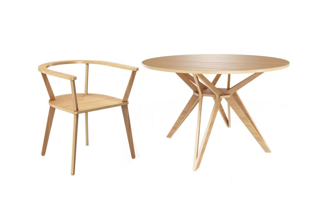 Обеденная группа Hagfors (стол + 4 стула)Комплекты для столовой<br>&amp;lt;div&amp;gt;&amp;lt;span style=&amp;quot;font-size: 14px;&amp;quot;&amp;gt;Hagfors – это стол, необычный дизайн которого создаст изящный акцент в вашем интерьере. Возможен в диаметрах 60, 90, 100, 120 и 148см.&amp;amp;nbsp;&amp;lt;/span&amp;gt;&amp;lt;span style=&amp;quot;font-size: 14px;&amp;quot;&amp;gt;Отделка шпоном дуба. &amp;amp;nbsp;&amp;lt;/span&amp;gt;&amp;lt;span style=&amp;quot;font-size: 14px;&amp;quot;&amp;gt;Прочный, стильный и удобный стул, настоящая классика скандинавского дизайна. Отделка шпоном дуба. Сборка не требуется.&amp;lt;/span&amp;gt;&amp;lt;/div&amp;gt;&amp;lt;div&amp;gt;&amp;lt;br&amp;gt;&amp;lt;/div&amp;gt;&amp;lt;div&amp;gt;&amp;lt;div&amp;gt;Размеры стола: 75/120&amp;lt;/div&amp;gt;&amp;lt;div&amp;gt;Материал стола: фанера&amp;lt;/div&amp;gt;&amp;lt;div&amp;gt;Размеры стула: 65/65/72&amp;lt;/div&amp;gt;&amp;lt;div&amp;gt;Материал стула: фанера&amp;lt;/div&amp;gt;&amp;lt;/div&amp;gt;<br><br>Material: Фанера<br>Height см: 75<br>Diameter см: 120