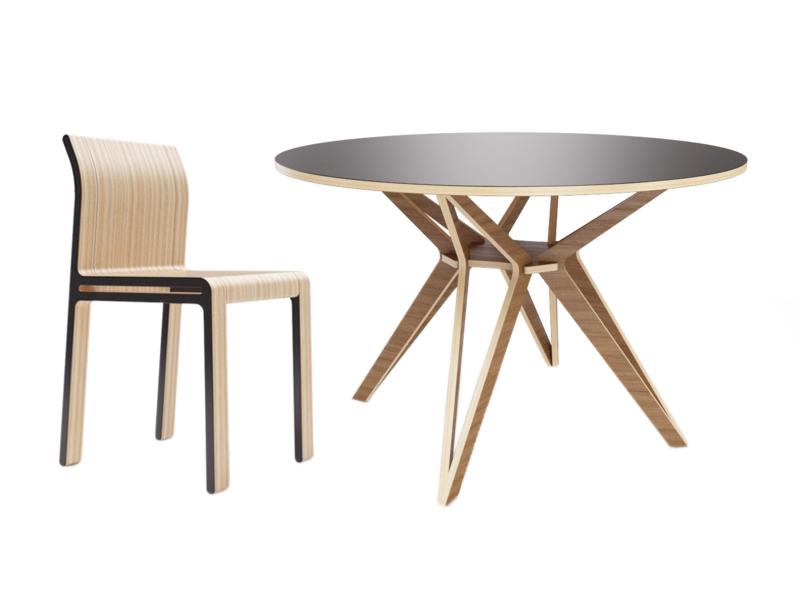 Обеденная группа Hagfors (стол + 4 стула)Комплекты для столовой<br>Hagfors – это комплект, необычный дизайн которого создаст изящный акцент в вашем интерьере.&amp;amp;nbsp;&amp;lt;div&amp;gt;&amp;lt;div&amp;gt;Возможен в диаметрах 60, 90, 100, 120 и 148см.&amp;lt;/div&amp;gt;&amp;lt;div&amp;gt;&amp;lt;br&amp;gt;&amp;lt;/div&amp;gt;&amp;lt;div&amp;gt;Размеры стола: 120х75 см&amp;lt;/div&amp;gt;&amp;lt;div&amp;gt;Материалы стола: фанера, отделка шпоном дуба.&amp;lt;/div&amp;gt;&amp;lt;/div&amp;gt;&amp;lt;div&amp;gt;&amp;lt;br&amp;gt;&amp;lt;/div&amp;gt;&amp;lt;div&amp;gt;Размеры стула: 40х82х46 см&amp;lt;/div&amp;gt;&amp;lt;div&amp;gt;Материалы стула: фанера&amp;lt;/div&amp;gt;&amp;lt;div&amp;gt;&amp;lt;span style=&amp;quot;font-size: 14px;&amp;quot;&amp;gt;Элементы стула окрашены в графитовый цвет.&amp;lt;/span&amp;gt;&amp;lt;br&amp;gt;&amp;lt;/div&amp;gt;<br><br>Material: Фанера<br>Height см: 75<br>Diameter см: 120