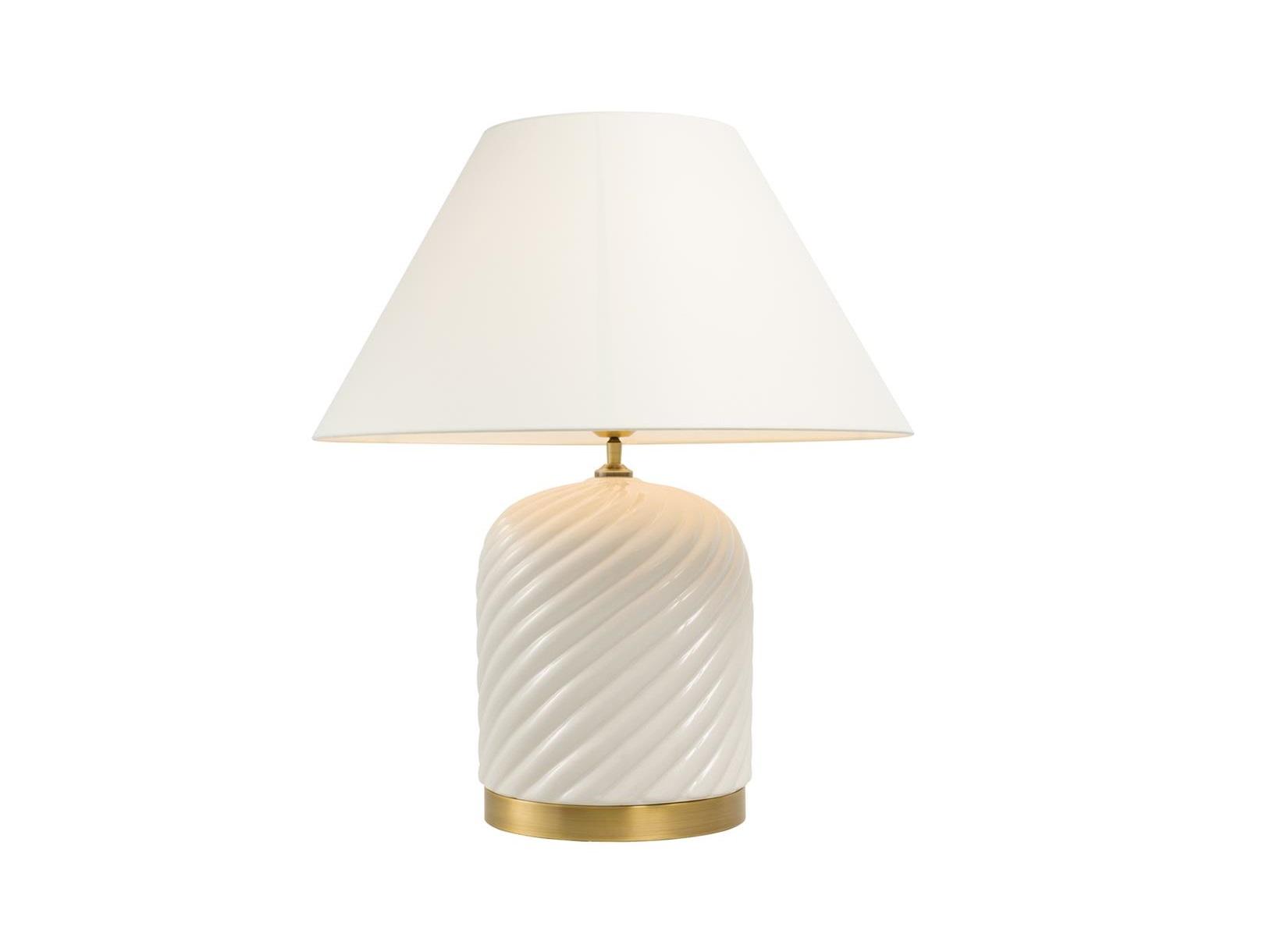 Настольная лампаДекоративные лампы<br>Настольная лампа Table Lamp Savona с вазой из керамики белого цвета. Текстильный белый абажур скрывает лампу&amp;lt;div&amp;gt;&amp;lt;br&amp;gt;&amp;lt;/div&amp;gt;&amp;lt;div&amp;gt;&amp;lt;div&amp;gt;Тип цоколя: E27&amp;lt;/div&amp;gt;&amp;lt;div&amp;gt;Мощность: 40W&amp;lt;/div&amp;gt;&amp;lt;div&amp;gt;Кол-во ламп: 1 (нет в комплекте)&amp;lt;/div&amp;gt;&amp;lt;/div&amp;gt;<br><br>Material: Керамика<br>Height см: 66<br>Diameter см: 58