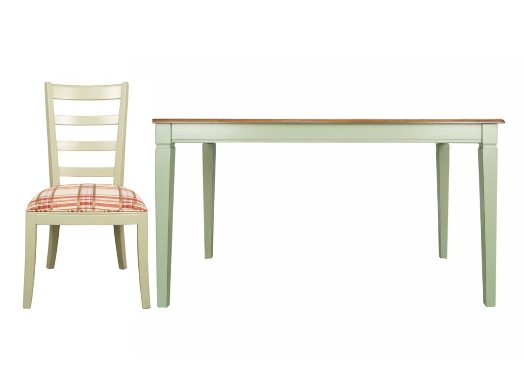 Обеденная группа Olivia (стол + 6 стульев)Комплекты для столовой<br>&amp;lt;div&amp;gt;Клетка - принт, который не теряет своей популярности на протяжении нескольких последних сезонов. Тканевая обивка с ним позволяет стулу &amp;quot;Olivia&amp;quot; выглядеть модным и романтичным. Контрастируя с зеленым цветом каркаса, красный текстиль создает яркий образ, не лишая его сдержанности и скромности. Столовая, гостиная или веранда в стиле шебби-шик с таким дополнением станут еще более интересными и роскошными в своей простоте.&amp;lt;/div&amp;gt;&amp;lt;div&amp;gt;&amp;lt;br&amp;gt;&amp;lt;/div&amp;gt;&amp;lt;div&amp;gt;Размеры стола: 144/85/79 см&amp;lt;br&amp;gt;&amp;lt;/div&amp;gt;&amp;lt;div&amp;gt;Материал стола: массив березы, ясень&amp;lt;br&amp;gt;&amp;lt;/div&amp;gt;&amp;lt;div&amp;gt;Размеры стула: 50/50/98 см&amp;lt;br&amp;gt;&amp;lt;/div&amp;gt;&amp;lt;div&amp;gt;Материал стула: береза&amp;lt;br&amp;gt;&amp;lt;/div&amp;gt;<br><br>Material: Береза<br>Ширина см: 144<br>Высота см: 79<br>Глубина см: 85