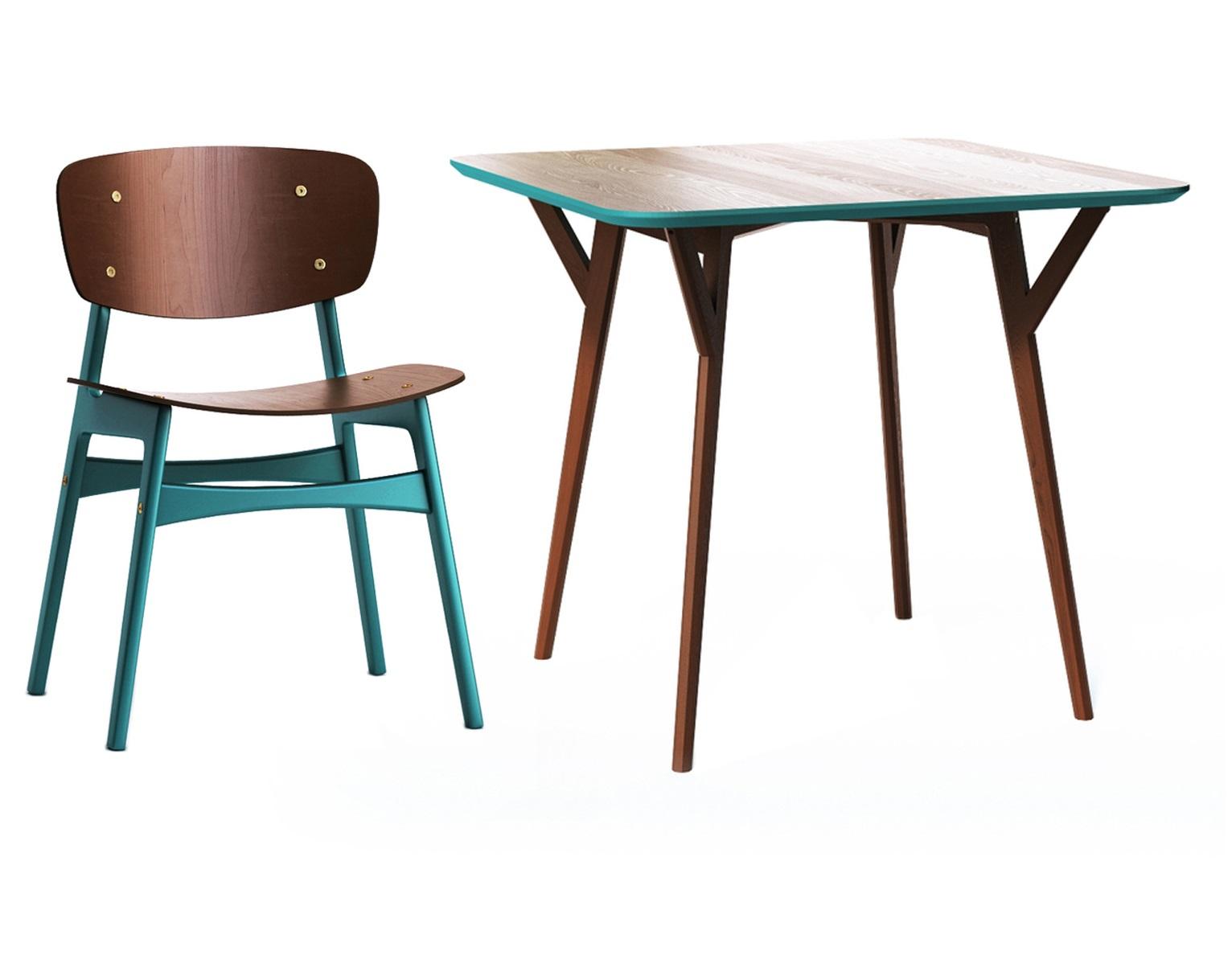 Обеденная группа Square (стол + 4 стула)Комплекты для столовой<br>&amp;lt;span style=&amp;quot;font-size: 14px;&amp;quot;&amp;gt;Удобная столешница стола без острых углов, основание из массива дуба, выверенные пропорции и множество цветов отделки – особенно удачная находка для небольших помещений и общественных пространств. &amp;amp;nbsp;Компанию этому столу составят я&amp;lt;/span&amp;gt;&amp;lt;span style=&amp;quot;font-size: 14px;&amp;quot;&amp;gt;ркие и энергичные обеденные стулья, которые зададут настроение любой кухне в скандинавском стиле. Спинка и сидение стула слегка изогнуты, что обеспечит полный комфорт во время трапезы. Ножки и поперечные перекладины окрашены в красный цвет, особенно выделяясь на фоне светлого дерева. Подобный контраст привлечет внимание гостей и не оставит без комплимента обеденную зону.&amp;lt;/span&amp;gt;&amp;lt;br&amp;gt;&amp;lt;div&amp;gt;&amp;lt;br&amp;gt;&amp;lt;/div&amp;gt;&amp;lt;div&amp;gt;Размеры стола: 90х75х90&amp;lt;/div&amp;gt;&amp;lt;div&amp;gt;Материалы стола: дуб&amp;lt;/div&amp;gt;&amp;lt;div&amp;gt;&amp;lt;br&amp;gt;&amp;lt;/div&amp;gt;&amp;lt;div&amp;gt;&amp;lt;div&amp;gt;Размеры стула: 54х78х46 см&amp;lt;/div&amp;gt;&amp;lt;div&amp;gt;Материалы стула: дерево&amp;lt;/div&amp;gt;&amp;lt;div&amp;gt;&amp;lt;br&amp;gt;&amp;lt;/div&amp;gt;<br><br>&amp;lt;/div&amp;gt;<br><br>Material: Дерево<br>Length см: None<br>Width см: 90<br>Depth см: 90<br>Height см: 75<br>Diameter см: None
