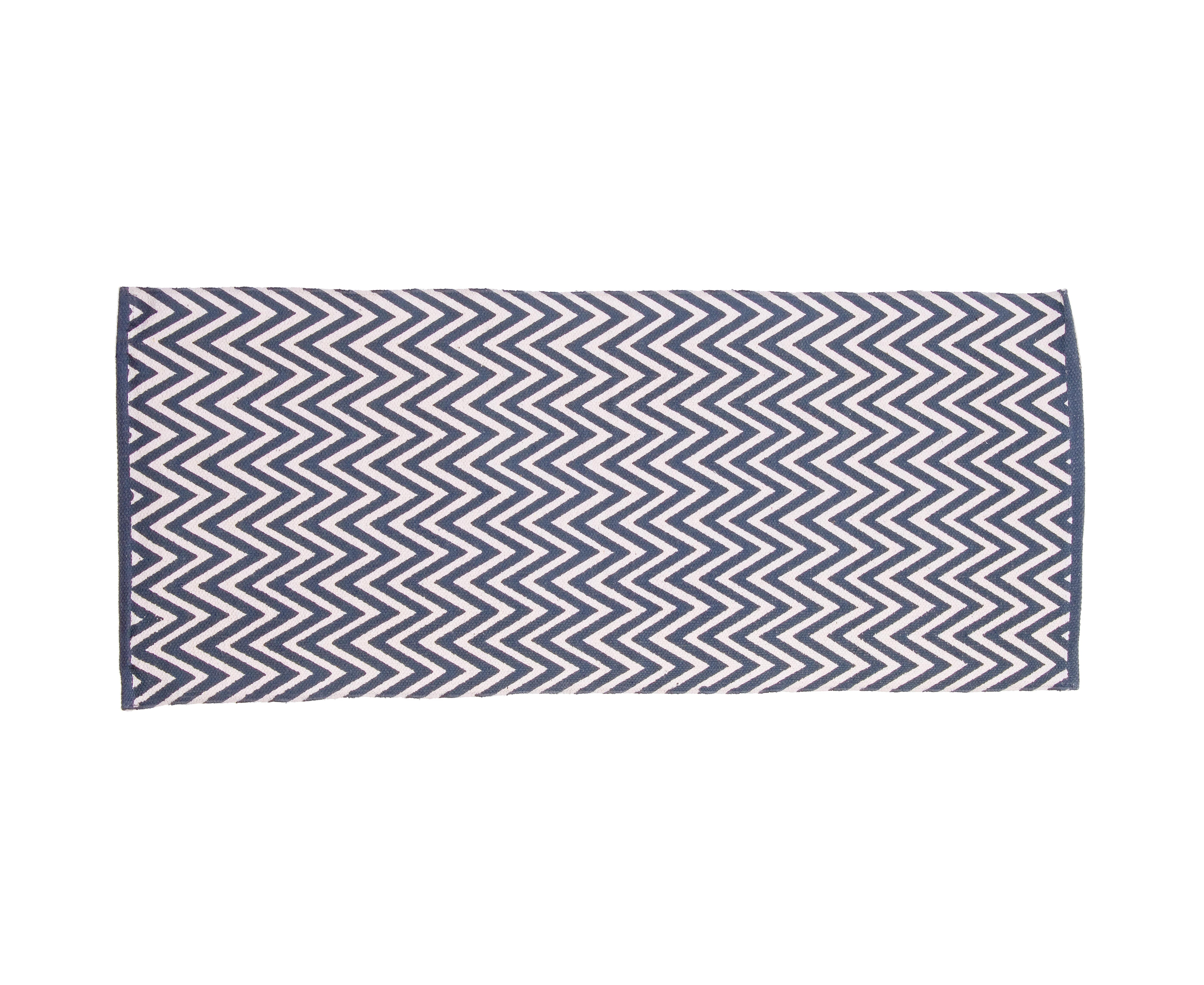 Ковер ZiggiПрямоугольные ковры<br><br><br>Material: Хлопок<br>Width см: 120<br>Depth см: 50<br>Height см: 1