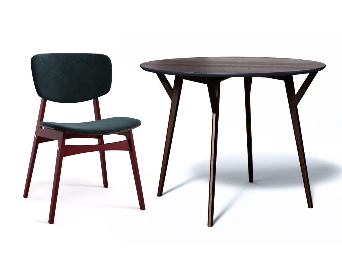 Обеденная группа CIRCLE (стол + 4 стула)Комплекты для столовой<br>&amp;lt;div&amp;gt;Обеденный стол CIRCLE отлично подходит для небольшой компании. Продуманные формы, натуральные материалы и яркие цвета делают стол CIRCLE притягательным центром интерьера.&amp;amp;nbsp;&amp;lt;br&amp;gt;&amp;lt;/div&amp;gt;&amp;lt;div&amp;gt;&amp;lt;br&amp;gt;&amp;lt;/div&amp;gt;&amp;lt;div&amp;gt;&amp;lt;div&amp;gt;Прочность и долговечность – отличительные черты мягкого стула SID. А еще он удобный и яркий.&amp;lt;/div&amp;gt;&amp;lt;div&amp;gt;Материал: Сиденье – Фанера, поролон, ткань.&amp;lt;/div&amp;gt;&amp;lt;div&amp;gt;Тип каркаса - Фанера.&amp;lt;/div&amp;gt;&amp;lt;div&amp;gt;Тип отделки – Эмаль, лак&amp;lt;/div&amp;gt;&amp;lt;/div&amp;gt;&amp;lt;div&amp;gt;&amp;lt;br&amp;gt;&amp;lt;/div&amp;gt;&amp;lt;div&amp;gt;&amp;lt;div&amp;gt;Размеры стола: 75/102&amp;lt;/div&amp;gt;&amp;lt;div&amp;gt;Материал стола: дерево&amp;lt;/div&amp;gt;&amp;lt;div&amp;gt;Размеры стула: 52/47/82&amp;lt;/div&amp;gt;&amp;lt;div&amp;gt;Материал стула: фанера&amp;lt;/div&amp;gt;&amp;lt;/div&amp;gt;<br><br>Material: Дерево<br>Length см: None<br>Width см: None<br>Depth см: None<br>Height см: 75<br>Diameter см: 102