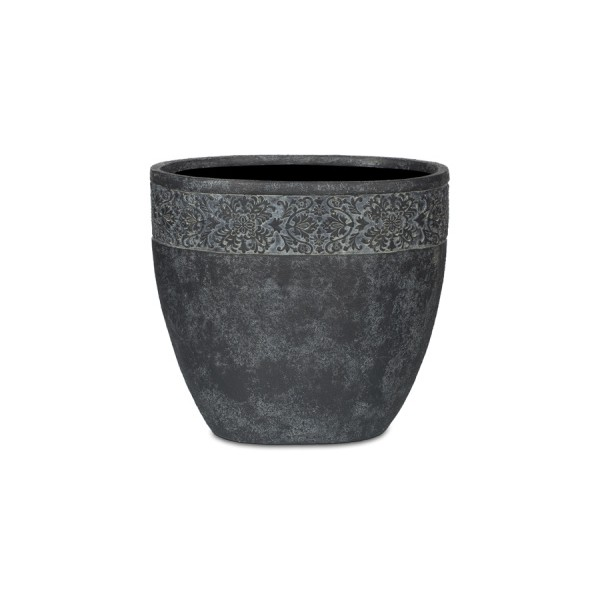 Набор ваз НАНСИ (3шт)Вазы<br>CAPI CLASSIC – это вазы в классическом французском стиле.  Вазы отличаются  декоративной каймой с изысканным цветочным узором.  <br>Коллекцию дополняют пьедесталы, с которыми вазы прекрасно согласуются и величественно выглядят рядом с входной дверью или на классической террасе.  Комплекты из ваз не только позволяют создать  красивую композицию, но и значительно облегчают уход за растениями. С их помощью легко расставить акценты на тропинках, входе в дом или на террасе.<br>Вазы CAPI EUROPE не боятся перепадов температуры и влажности воздуха. Все вазы могут быть использованы в доме и на улице круглый год. На дне каждой вазы есть дренажное отверстие, что позволит уберечь  вазу в морозы.&amp;amp;nbsp;&amp;lt;div&amp;gt;&amp;lt;br&amp;gt;&amp;lt;/div&amp;gt;&amp;lt;div&amp;gt;Размеры: 1) 29X19X26; 2) 37X24X33; 3) 45X29X40&amp;lt;/div&amp;gt;<br><br>Material: Полистоун