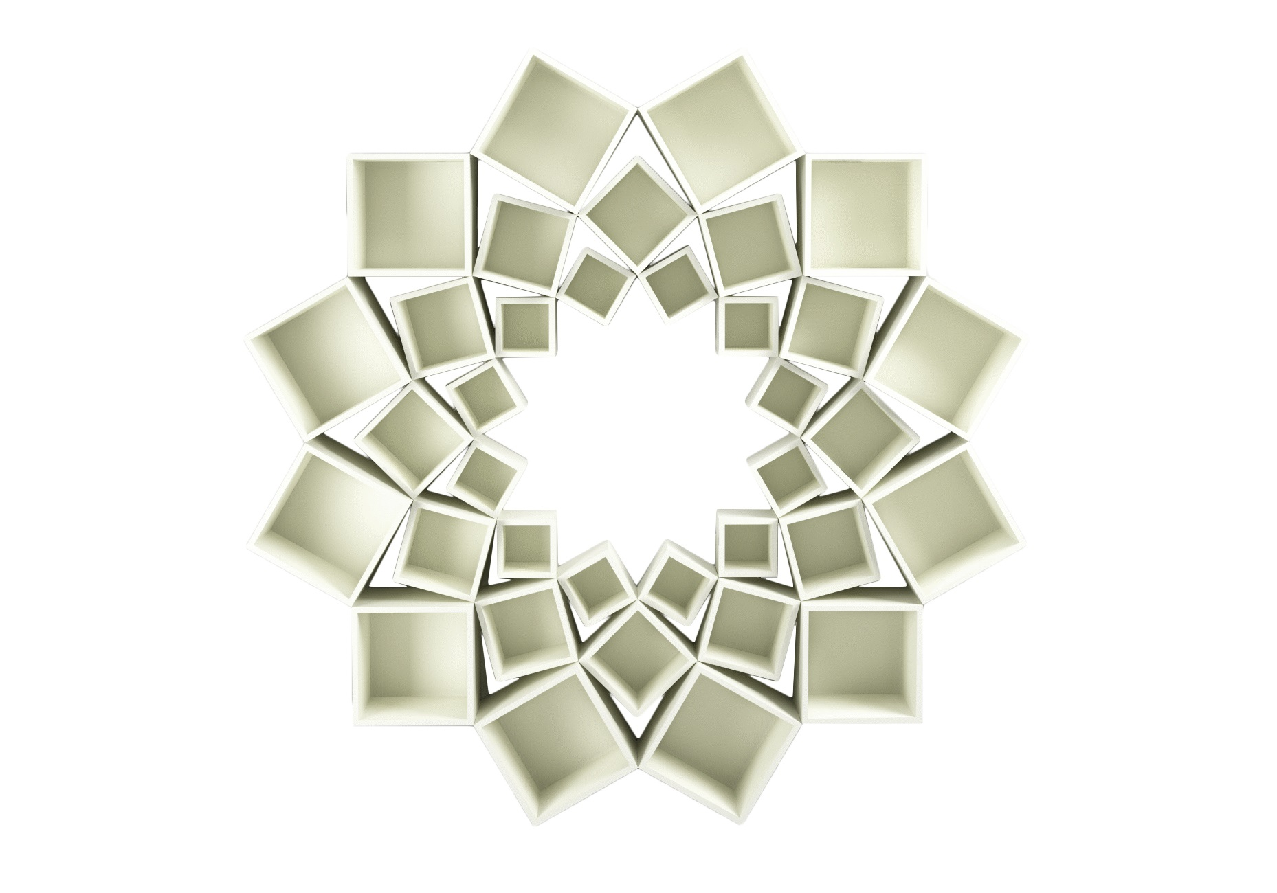 Стеллаж Лотос 3 кругаСтеллажи и этажерки<br>&amp;lt;div&amp;gt;Потрясающий стеллаж из трех кругов квадратов!&amp;amp;nbsp;&amp;lt;/div&amp;gt;&amp;lt;div&amp;gt;&amp;lt;br&amp;gt;&amp;lt;/div&amp;gt;&amp;lt;div&amp;gt;Материал: МДФ, шпон&amp;amp;nbsp;&amp;lt;/div&amp;gt;<br><br>Material: МДФ<br>Высота см: 210.0<br>Глубина см: 30.0