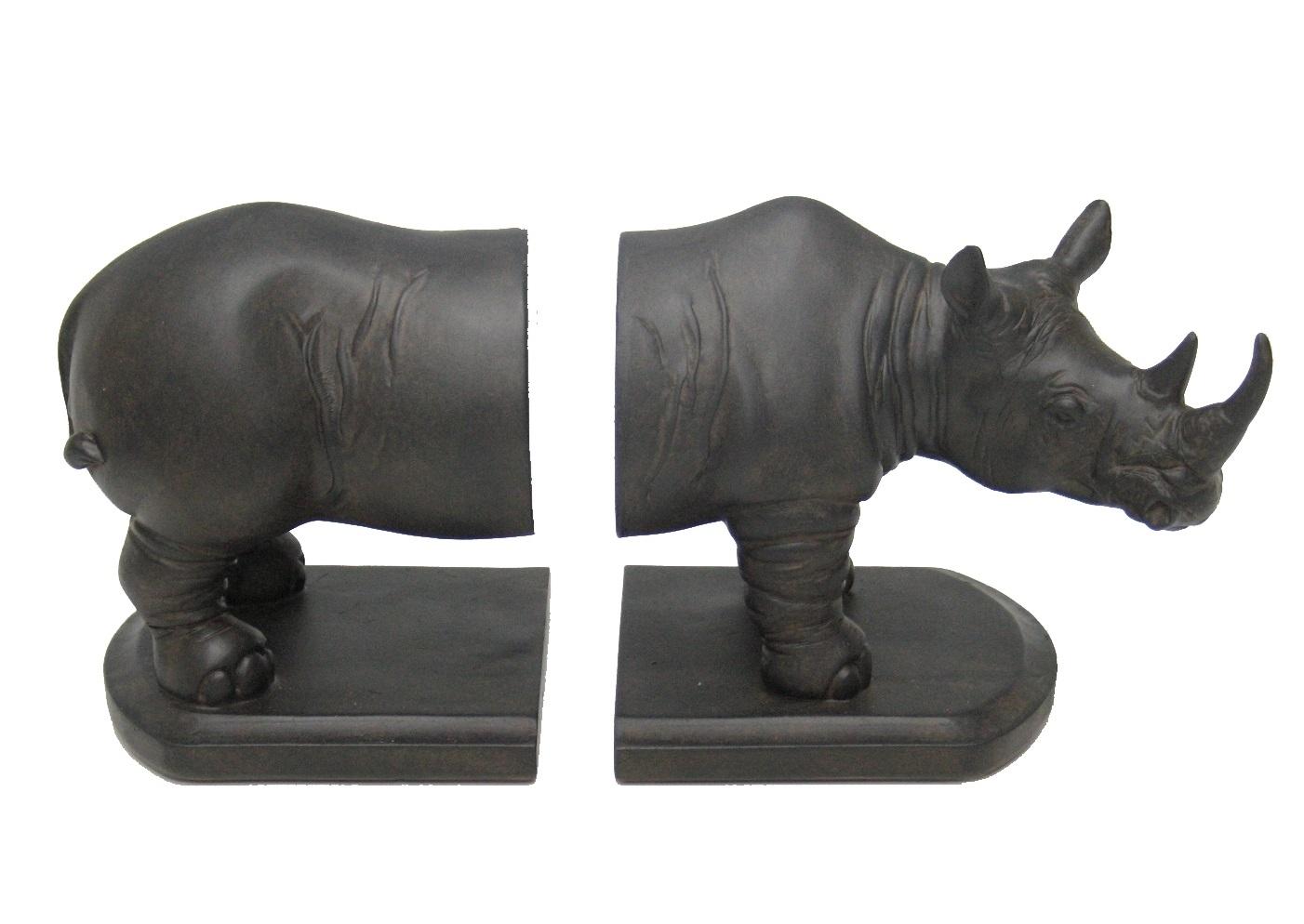 Подставка RhinocerosДержатели для книг<br><br><br>Material: Полирезин<br>Ширина см: 30<br>Высота см: 12<br>Глубина см: 12