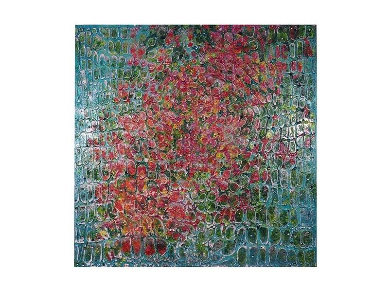 Настенное панно Райский садПанно<br>Глядя на этот шедевр, нельзя не представить разноцветные верхушки деревьев сада посреди зеленого пространства. Роскошный статусный подарок буквально оживает на глазах, ведь вдохновителем стала сама природа. Слышен шелест эвкалиптов, треск погремушек красного клена, щебет райских птиц, насельников сада.&amp;amp;nbsp;&amp;lt;div&amp;gt;&amp;lt;br&amp;gt;&amp;lt;div&amp;gt;&amp;lt;span style=&amp;quot;font-size: 14px;&amp;quot;&amp;gt;Предмет интерьера выполнен из моря разноцветных камней и имеет текстуру аллигатора.      холст на галлерейном подрамнике, акриловые краски,акриловый лак, разноцветные крупные кристаллы горного хрусталя(более 5000 шт), глиттер(блестки)&amp;lt;/span&amp;gt;&amp;lt;br&amp;gt;&amp;lt;/div&amp;gt;&amp;lt;/div&amp;gt;<br><br>Material: Холст<br>Width см: 100<br>Depth см: 4<br>Height см: 100