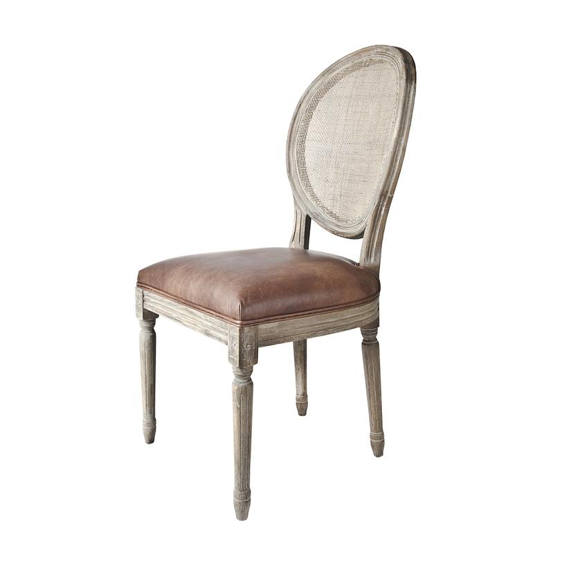 Стул СпаОбеденные стулья<br>Стул с медальонной спинкой – модель в классическом стиле. Выполнен на каркасе из массива дуба. Предлагается в текстильной обивке из ассортимента производителя или второй вариант товара обивка кожа.<br><br>Material: Дуб<br>Width см: 50<br>Depth см: 60<br>Height см: 102
